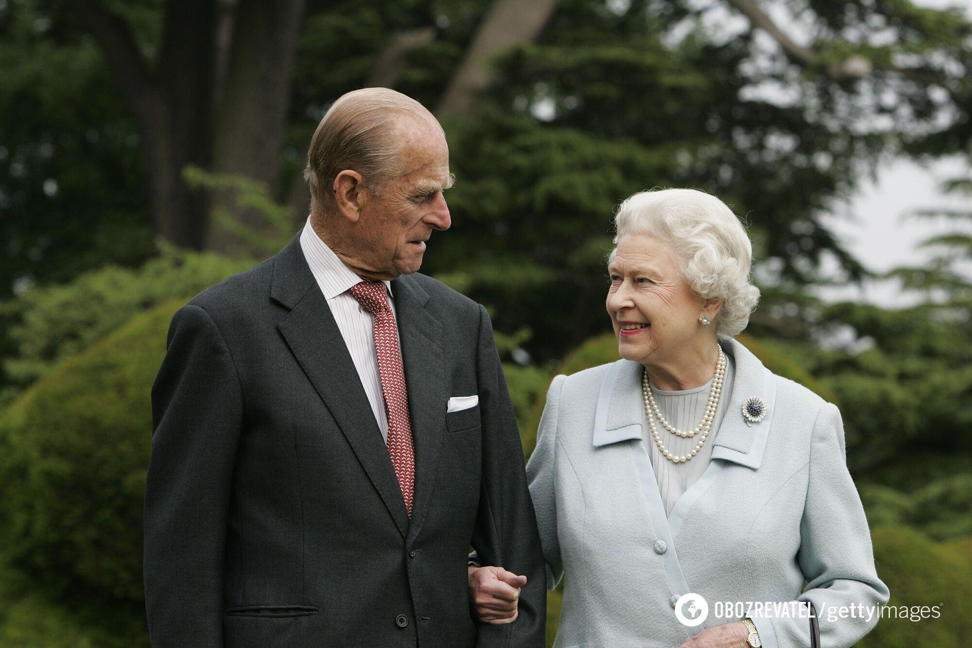 Принц Філіп та Єлизавета II