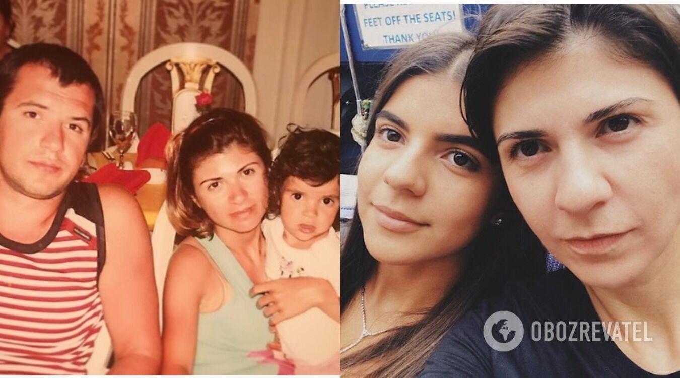 Крапівіна народила дочку у 2003 році, яка зараз живе і вчиться в Лондоні