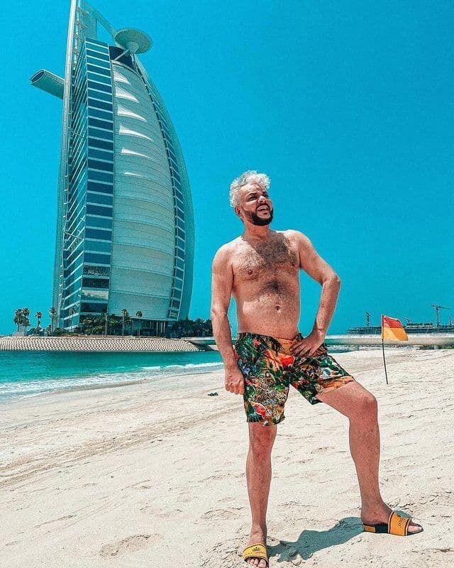 Кіркоров показав торс на пляжі