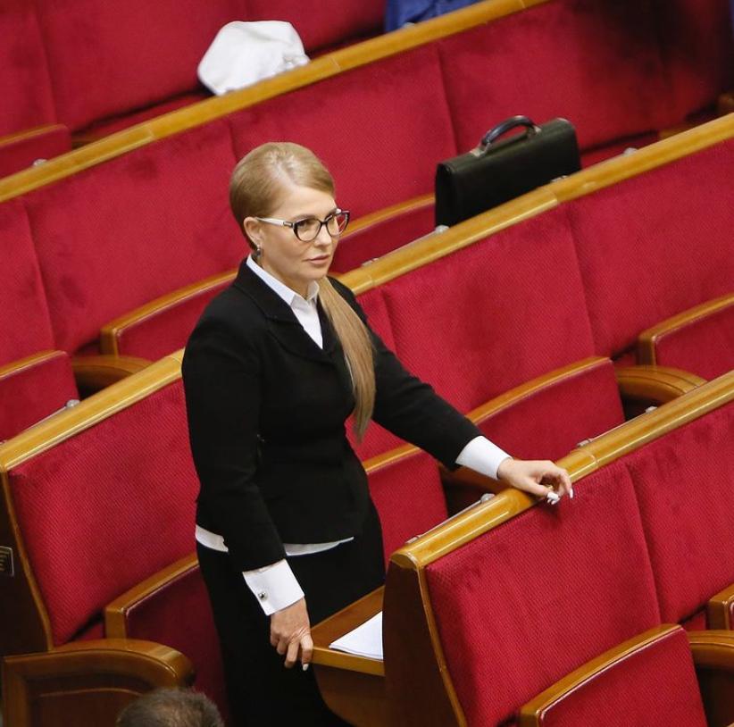Юлія Тимошенко продемонструвала стильний образ