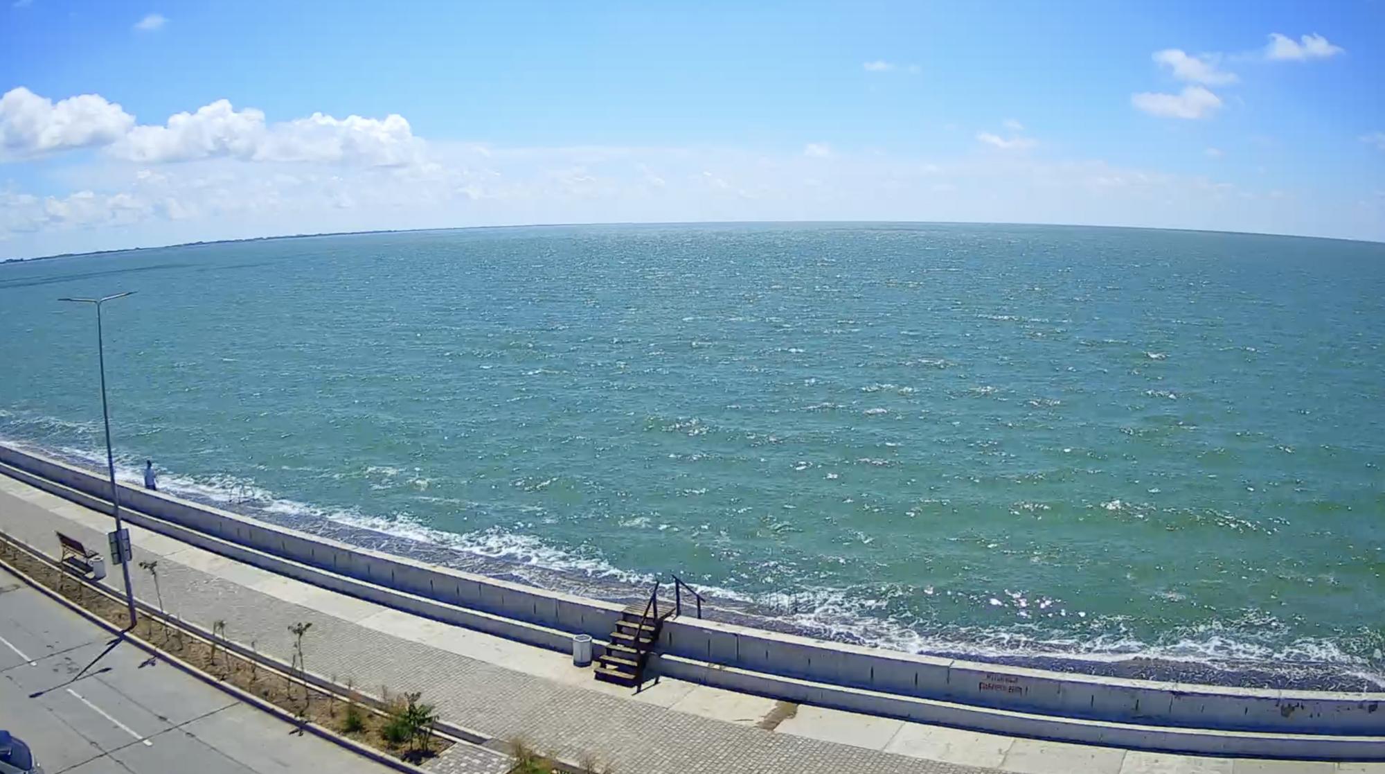 В Бердянске на Азовском море нет туристов.