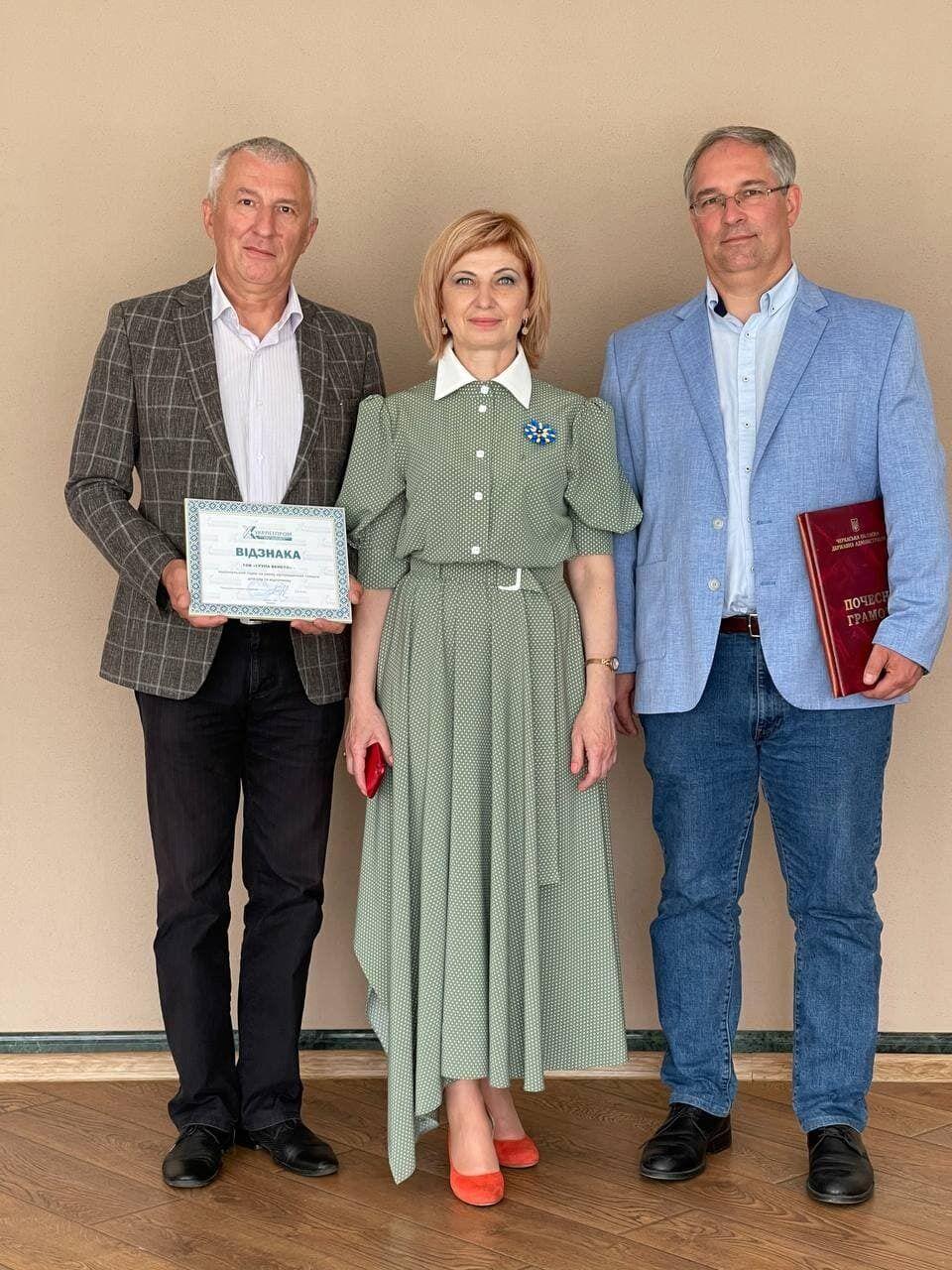 """ООО """"Группа Венето"""" получила награду от """"Укрлегфарминга"""" как лидер на рынке товаров для сна и отдыха"""