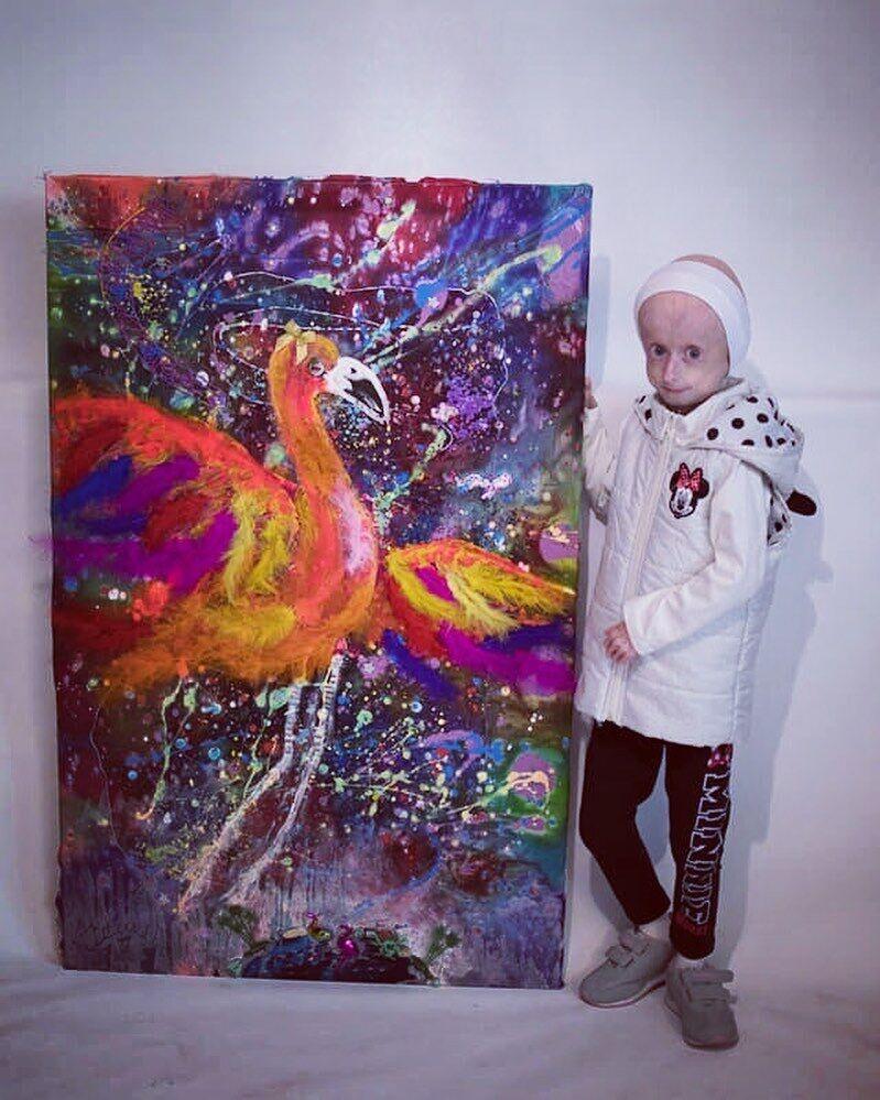 Дівчинка була талановитою художницею