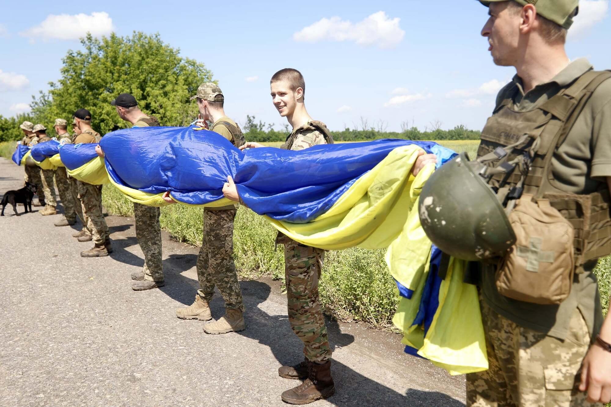 У запуску взяли участь військові 72 ОМБр