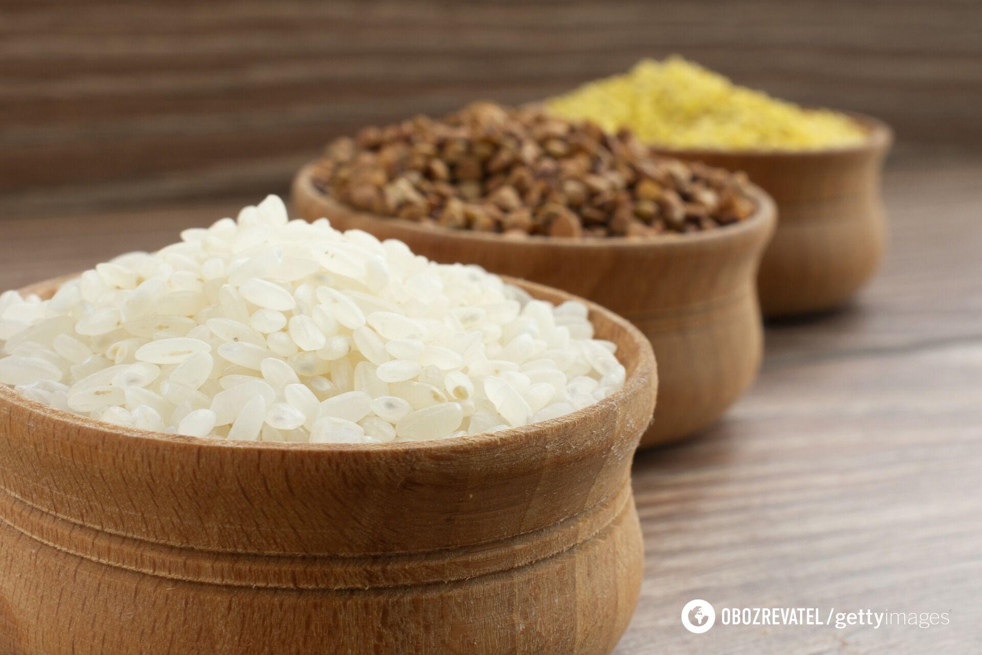 Як вибрати рис для плову