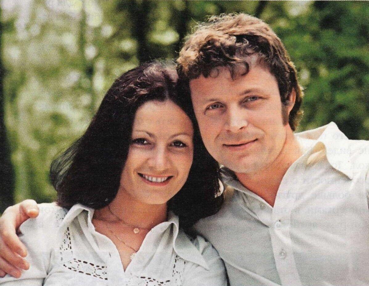 Ротару вместе с мужем в молодости