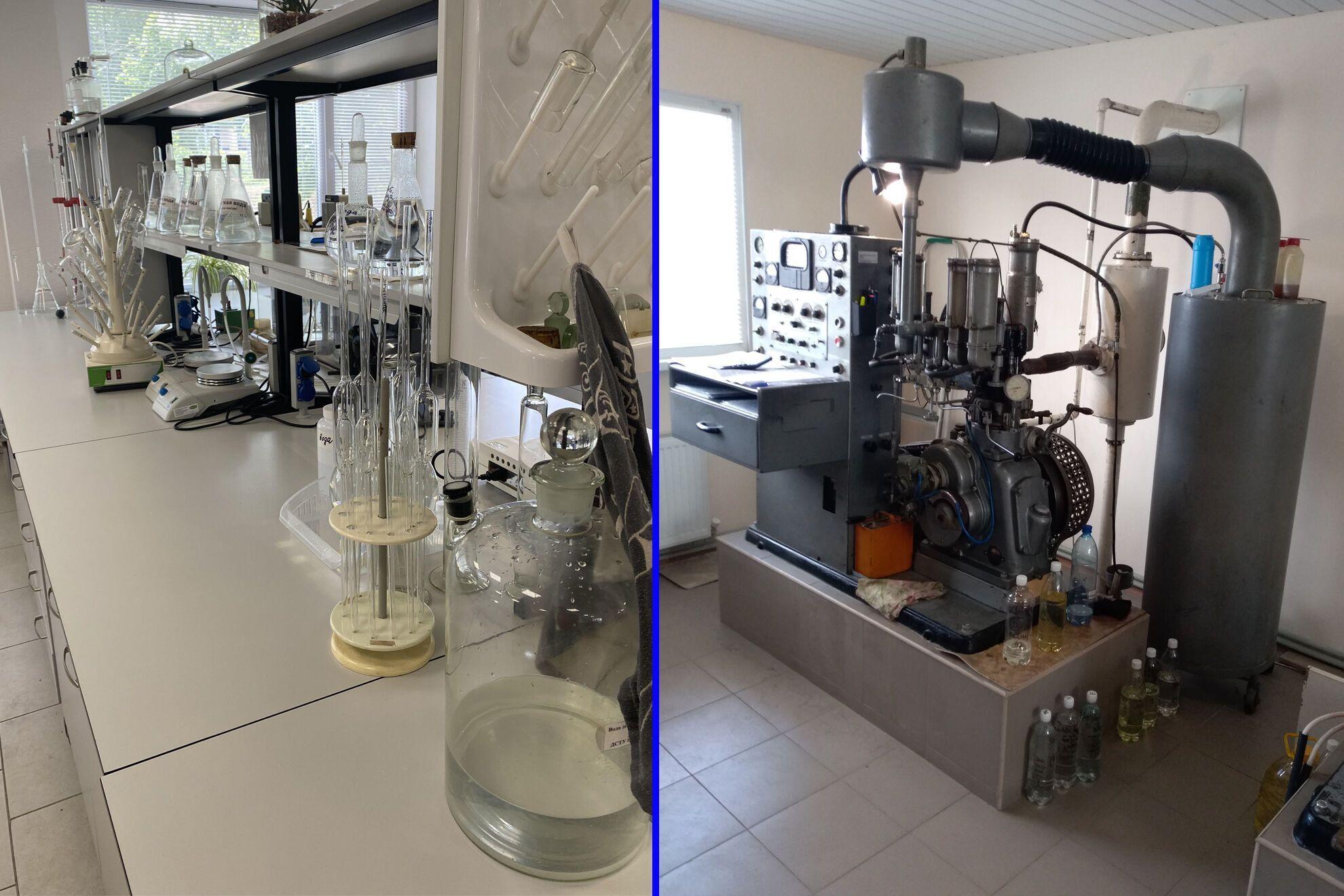 У лабораторії всі зразки пройшли перевірку по 5 параметрам: цетановий індекс, фракційний склад, температура спалаху в закритому тиглі, вміст сірки та щільність