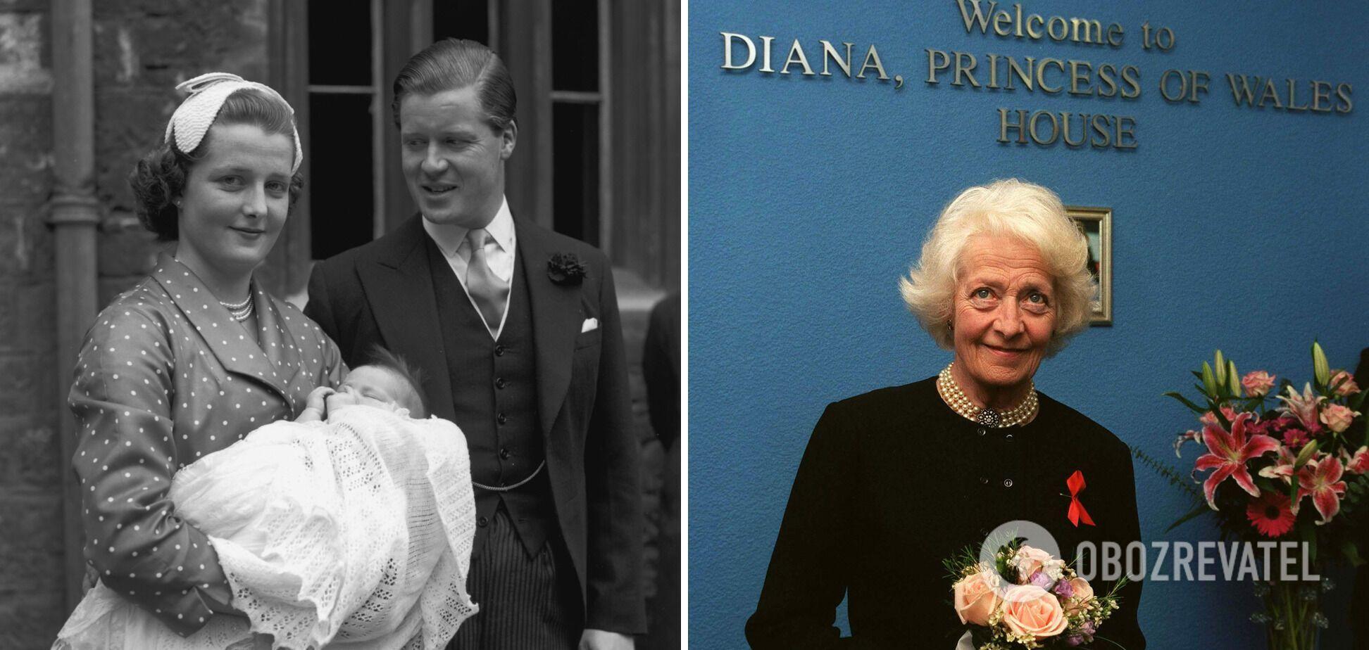 Принцесса Диана не общалась с матерью