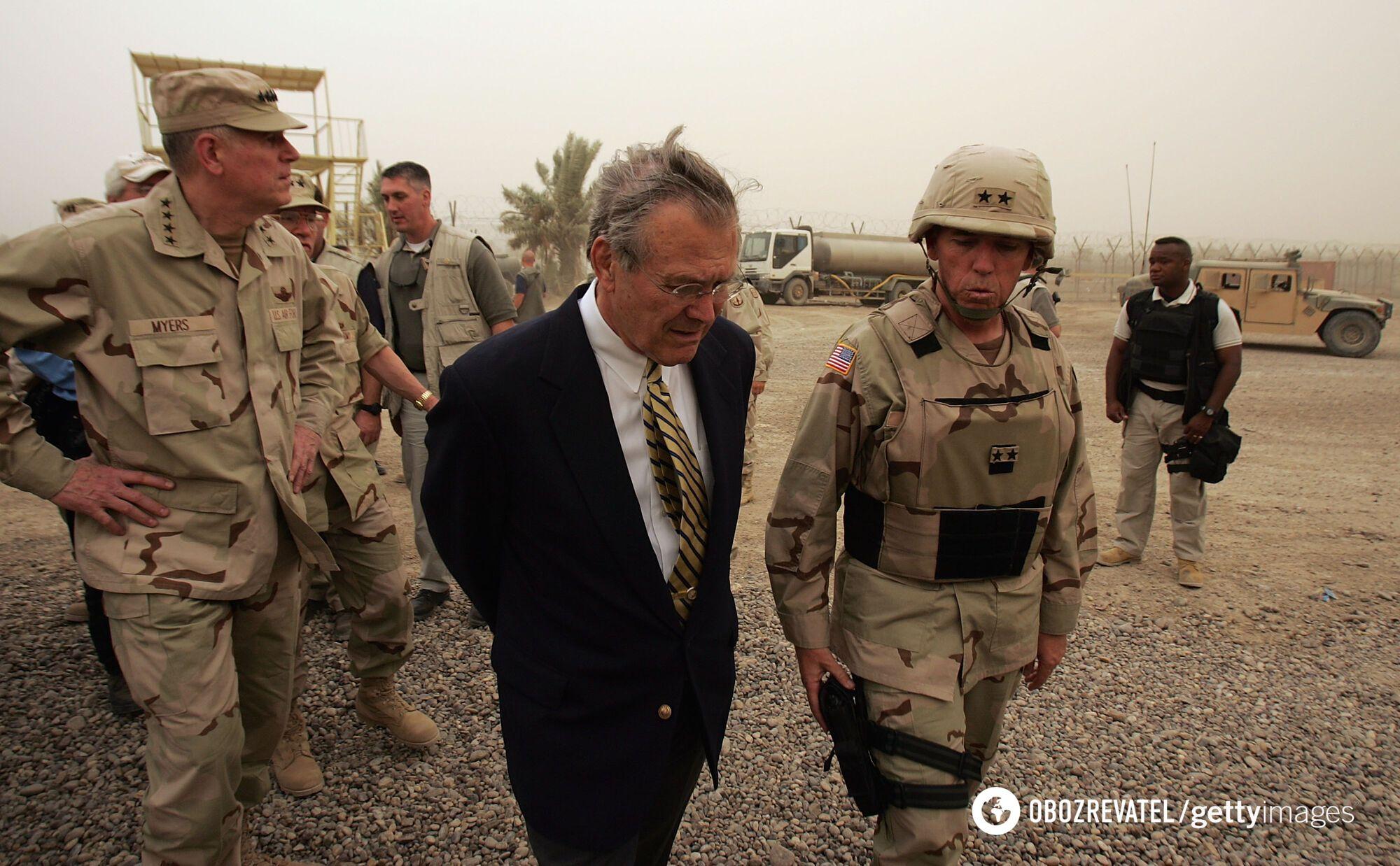 Рамсфелд в Іраку
