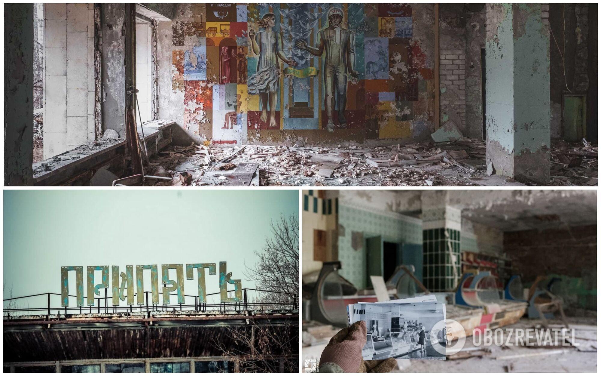 За 35 лет город Припять зарос сорняками и оброс легендами