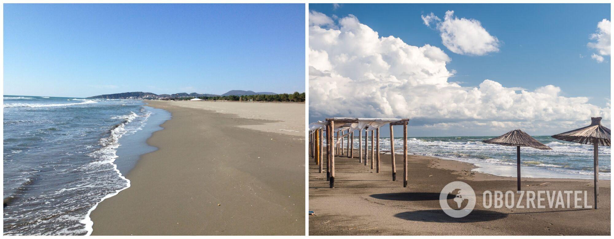 Черногорский пляж Копакабана вулканического происхождения