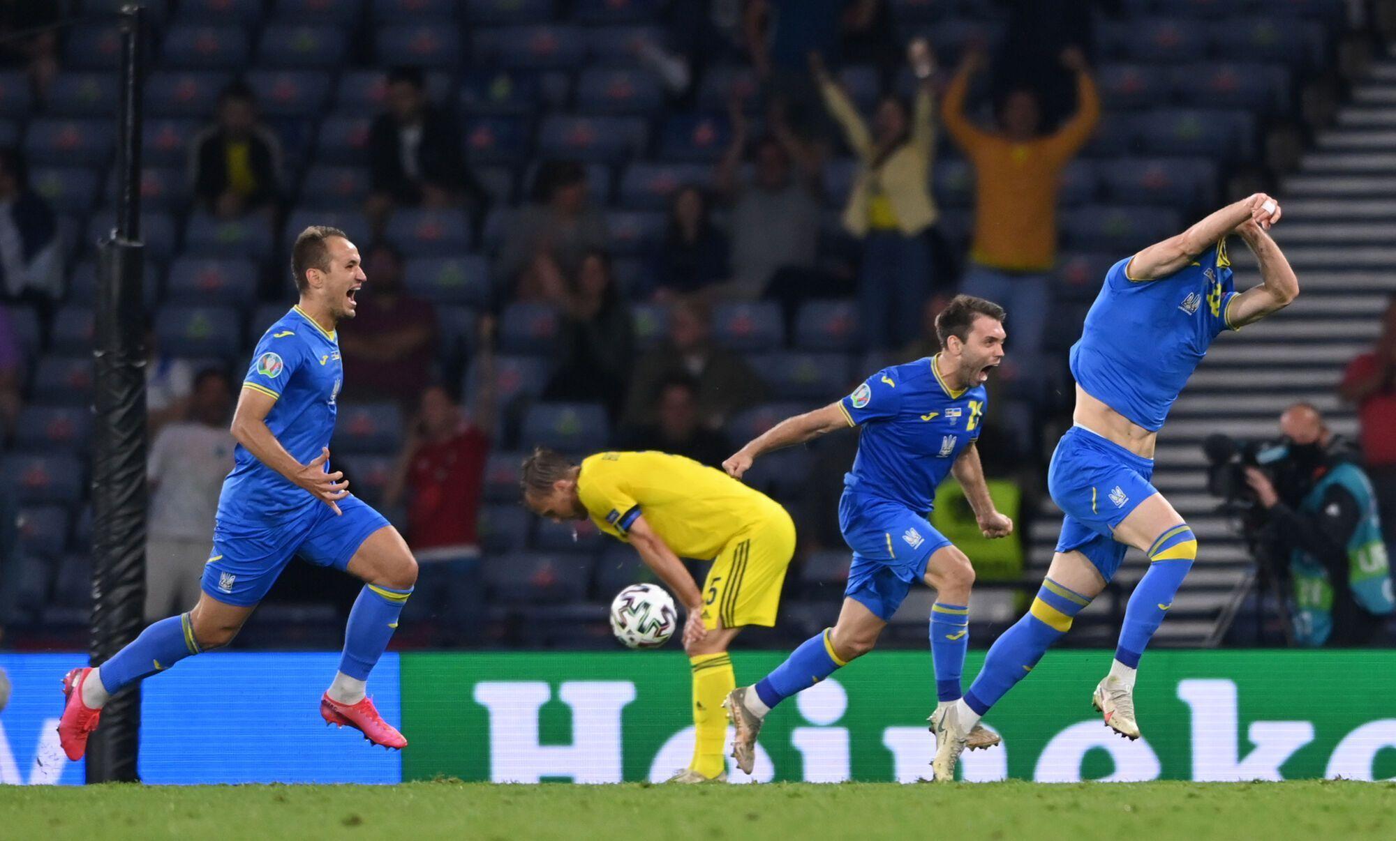 Швеция - Украина - Евро-2020: 1/8 финала