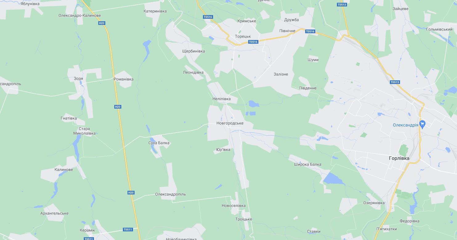 Колишнє Новгородське