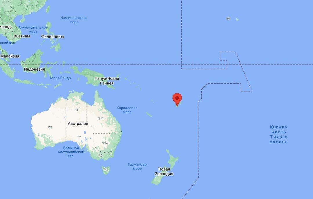 Государство Фиджи в Океании.