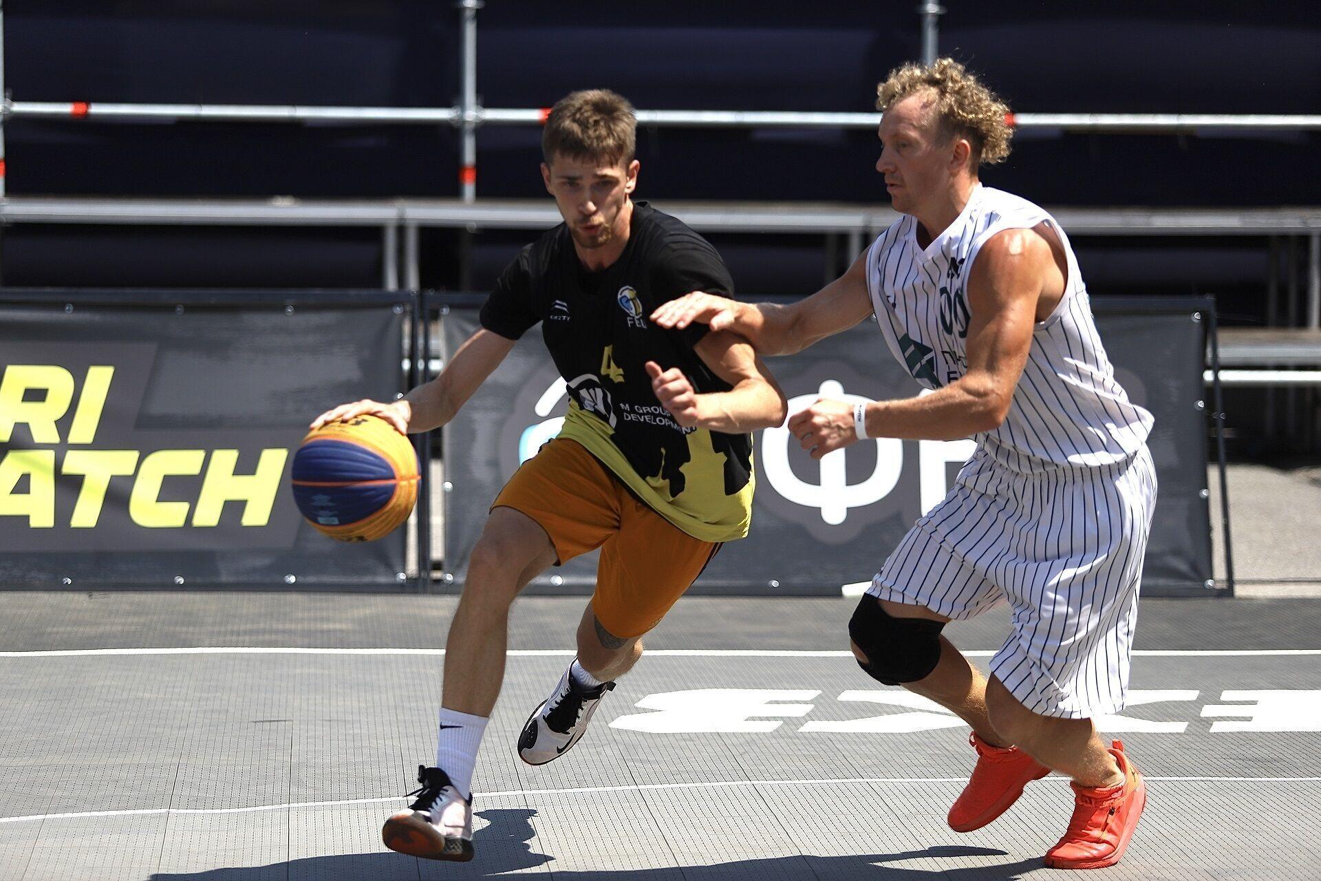 Определились победители второго этапа чемпионата Украины по баскетболу 3х3