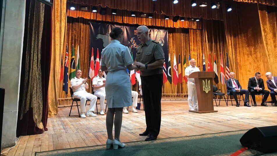 Військові отримали нагороди.