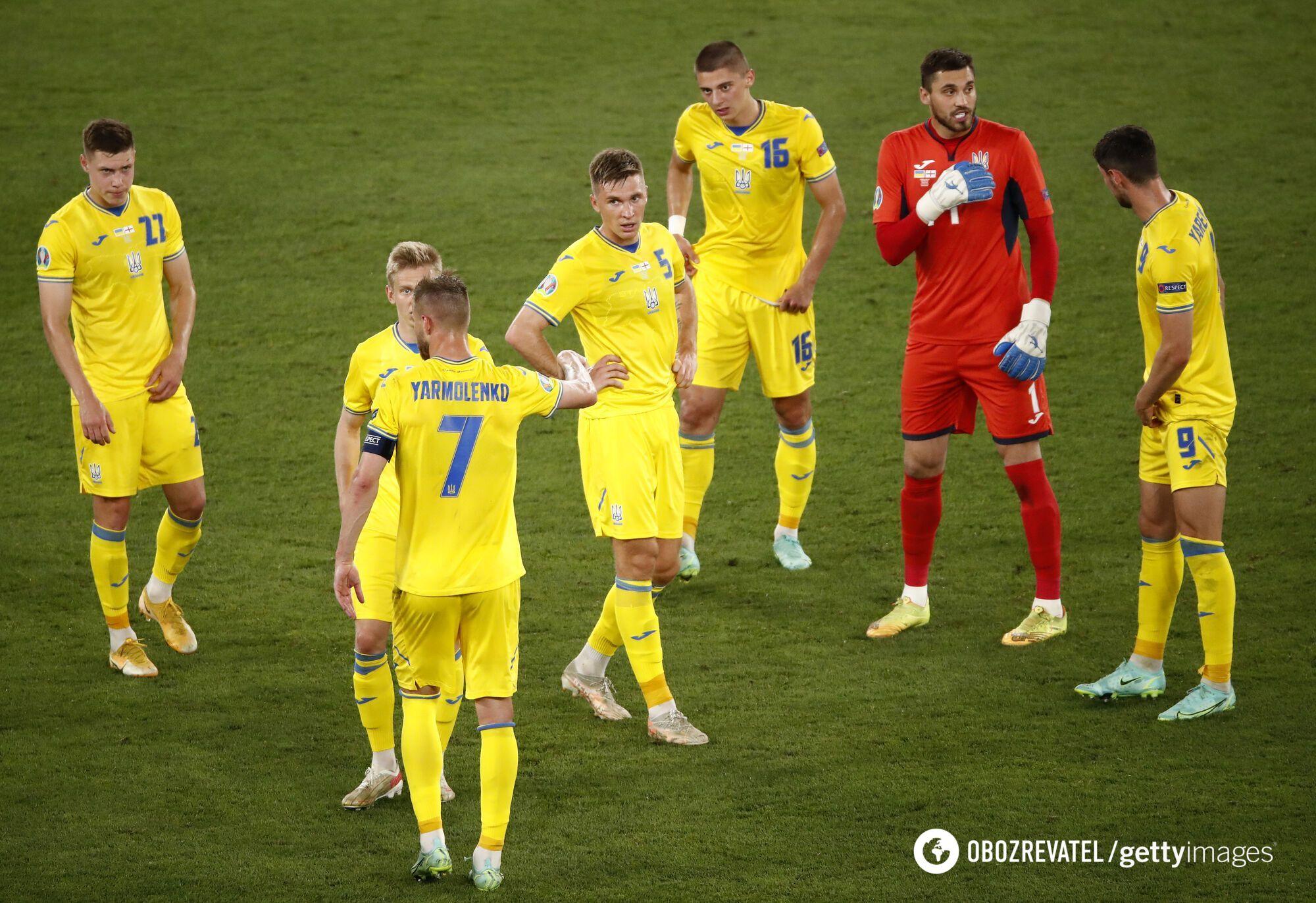 Україна програла Англії.