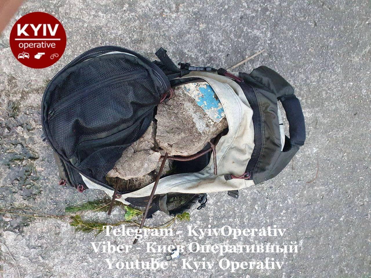 В рюкзаке погибшего обнаружили камни