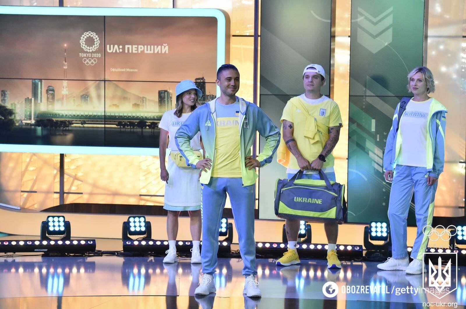 Презентации формы олимпийской сборной Украины.