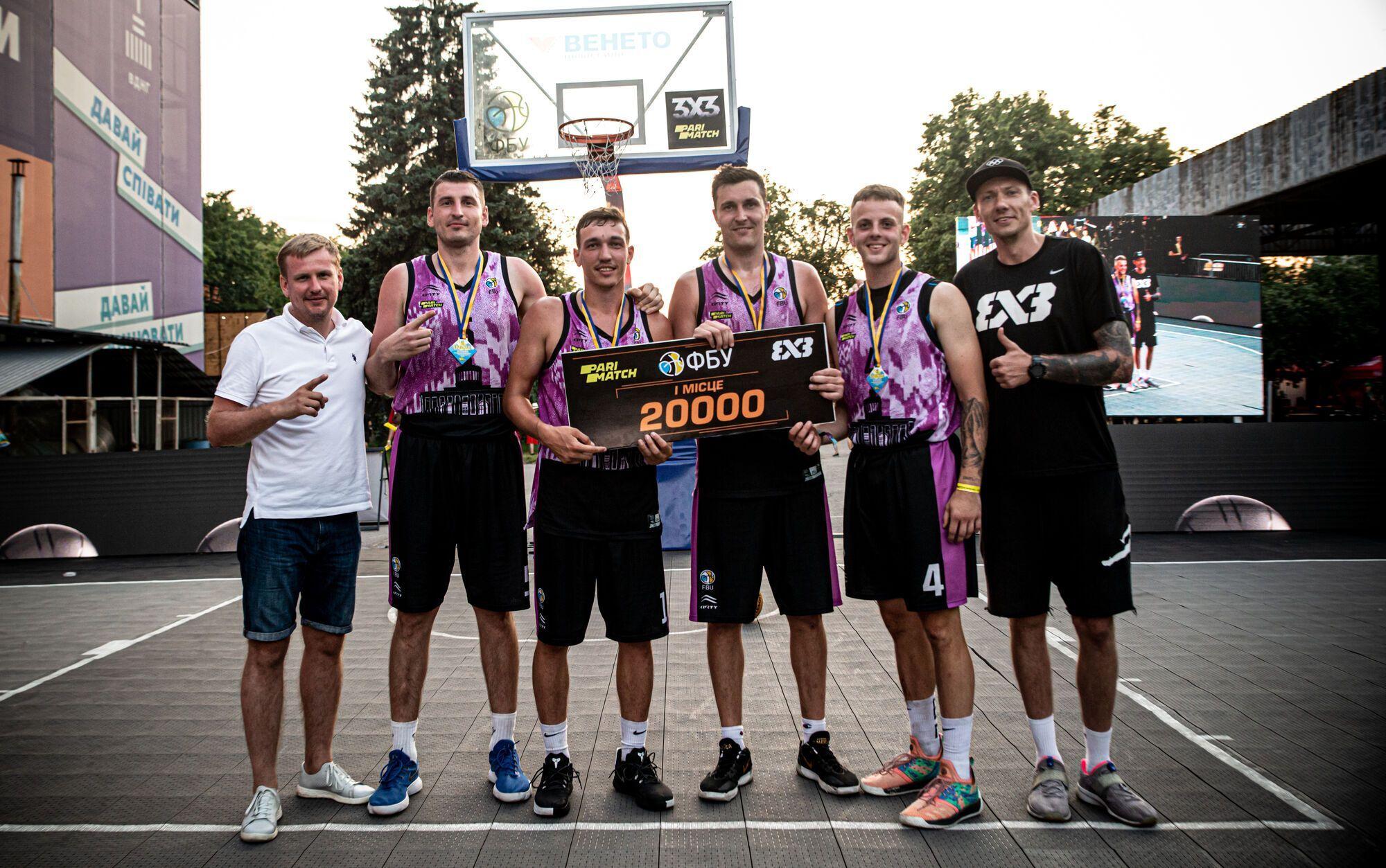 Определились победители 3-го тура чемпионата Украины по баскетболу 3х3