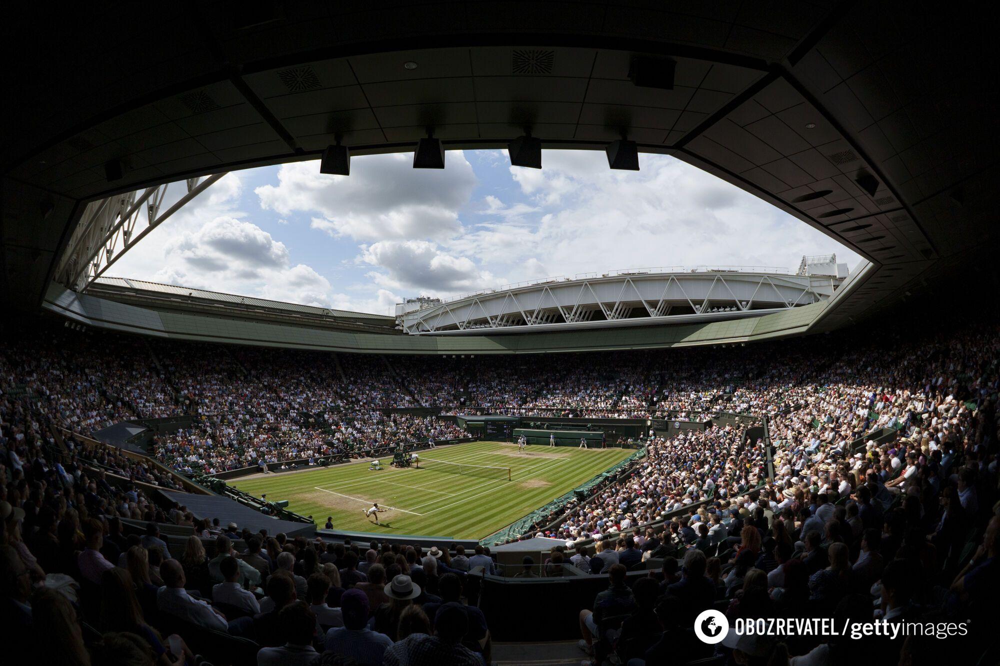 Полные трибуны Wimbledon