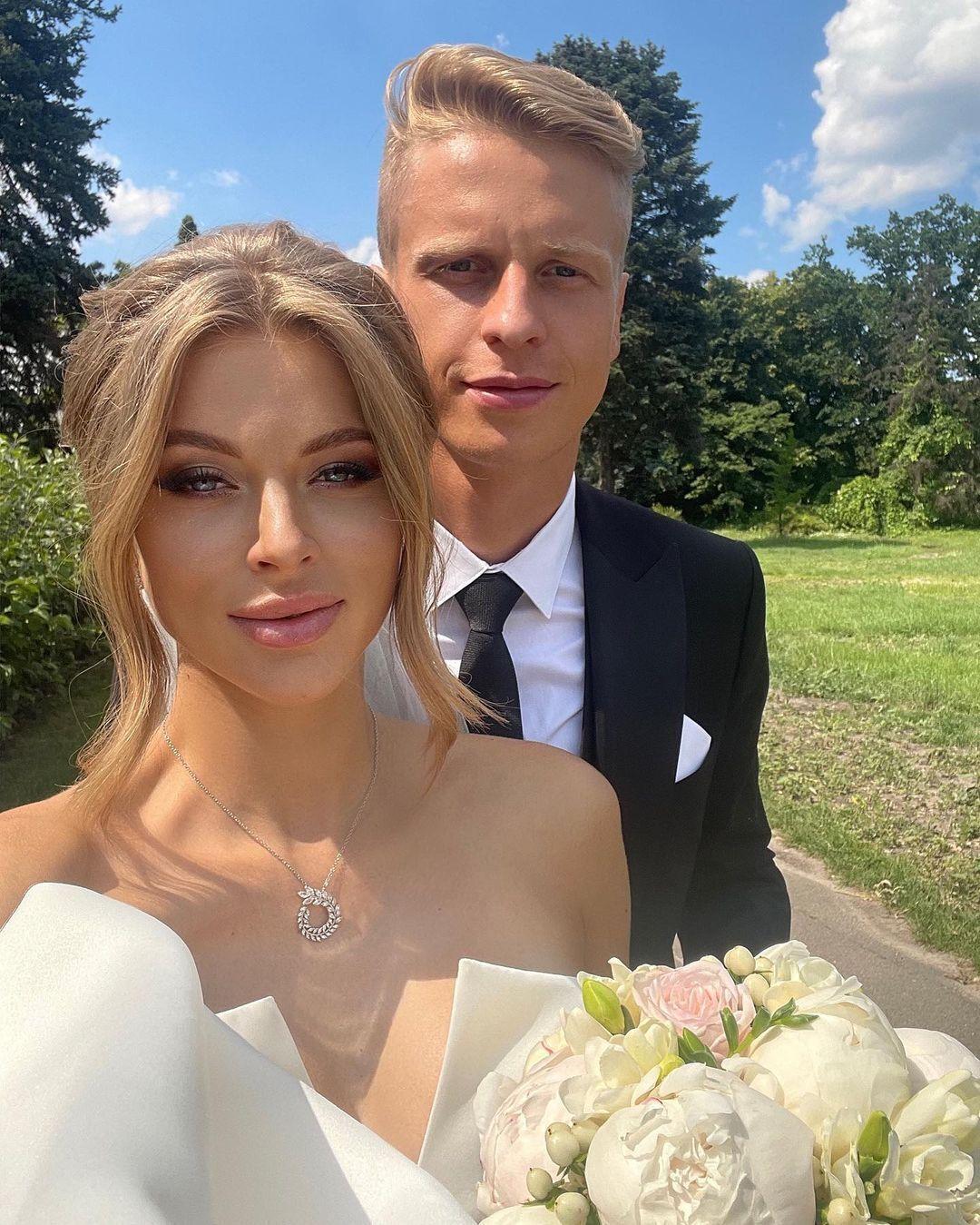 Юліанна Шабанова разом із чоловіком на фотосесії