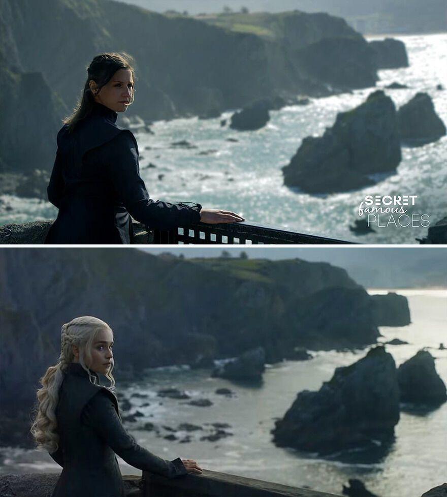 Жінка сфотографувалася на мосту, де стояла Дейнерис