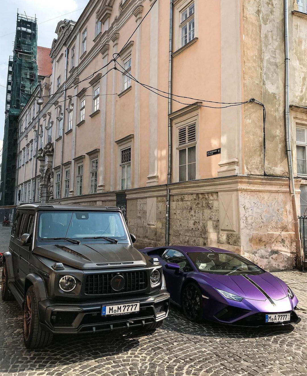 Роскошные авто на общую сумму более 500 тысяч евро