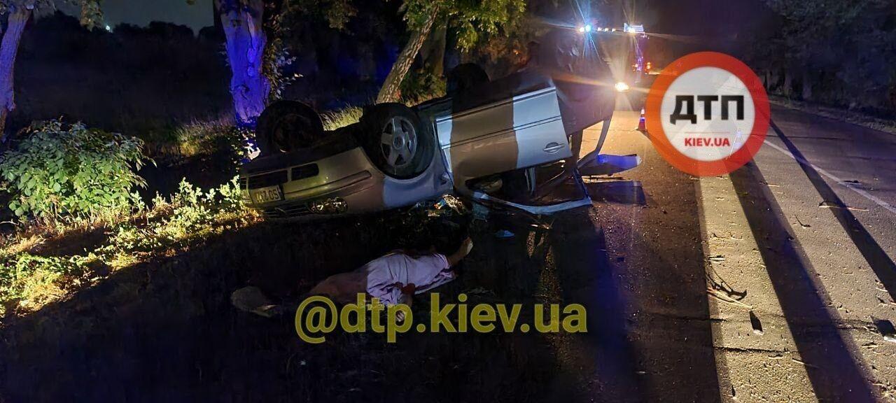 ДТП сталася в Бориспільському районі.