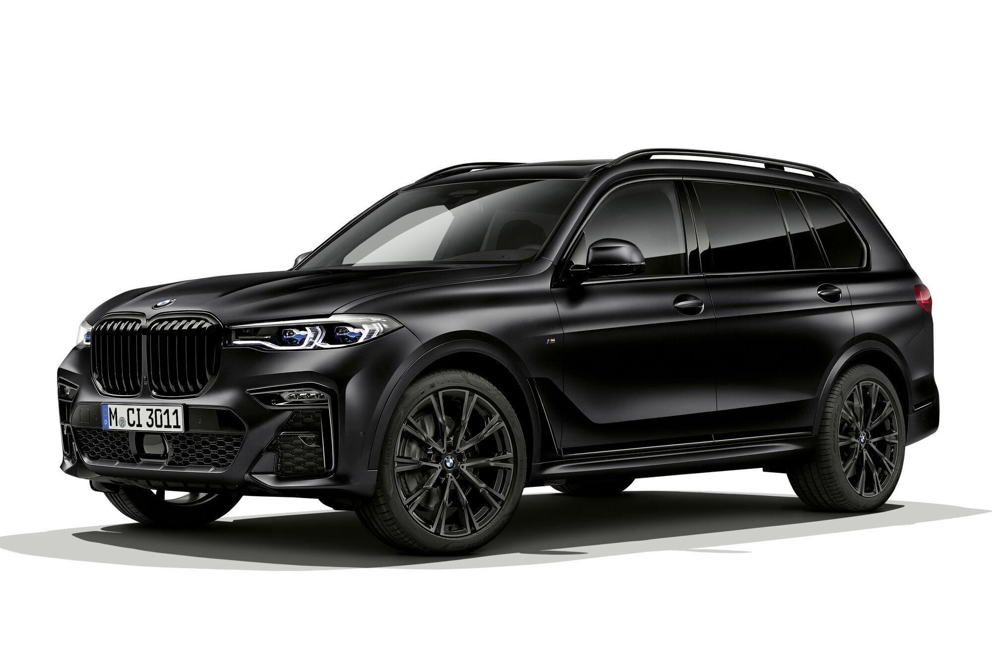 Флагманский BMW X7 Frozen Black