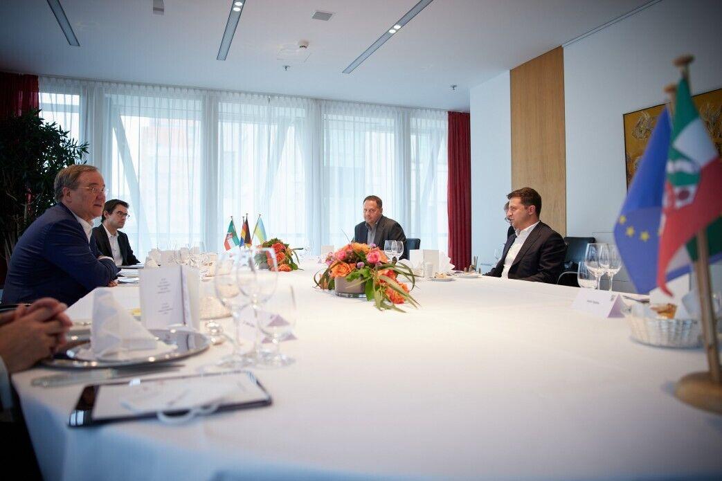 Встреча президента Украины и главы ХДС Германии