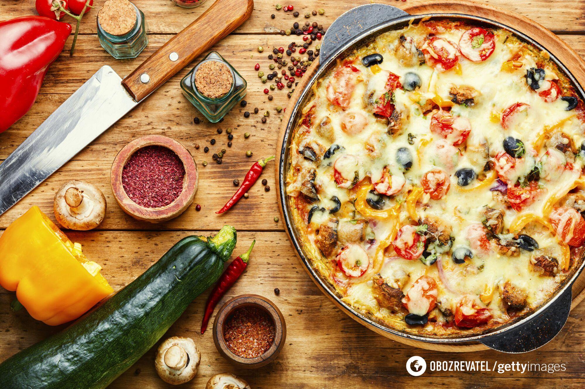 Піца з кабачками