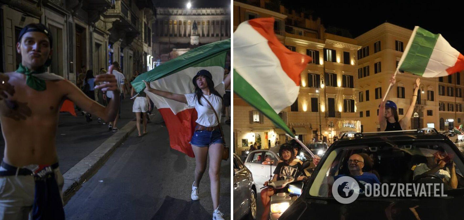Празднование в Риме