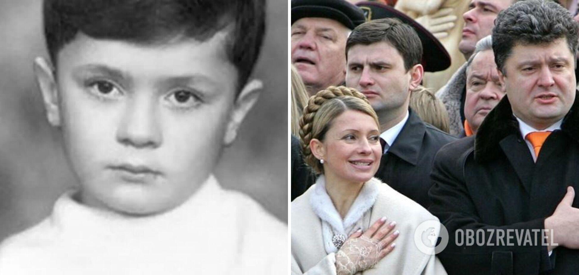 Как раньше выглядел Порошенко
