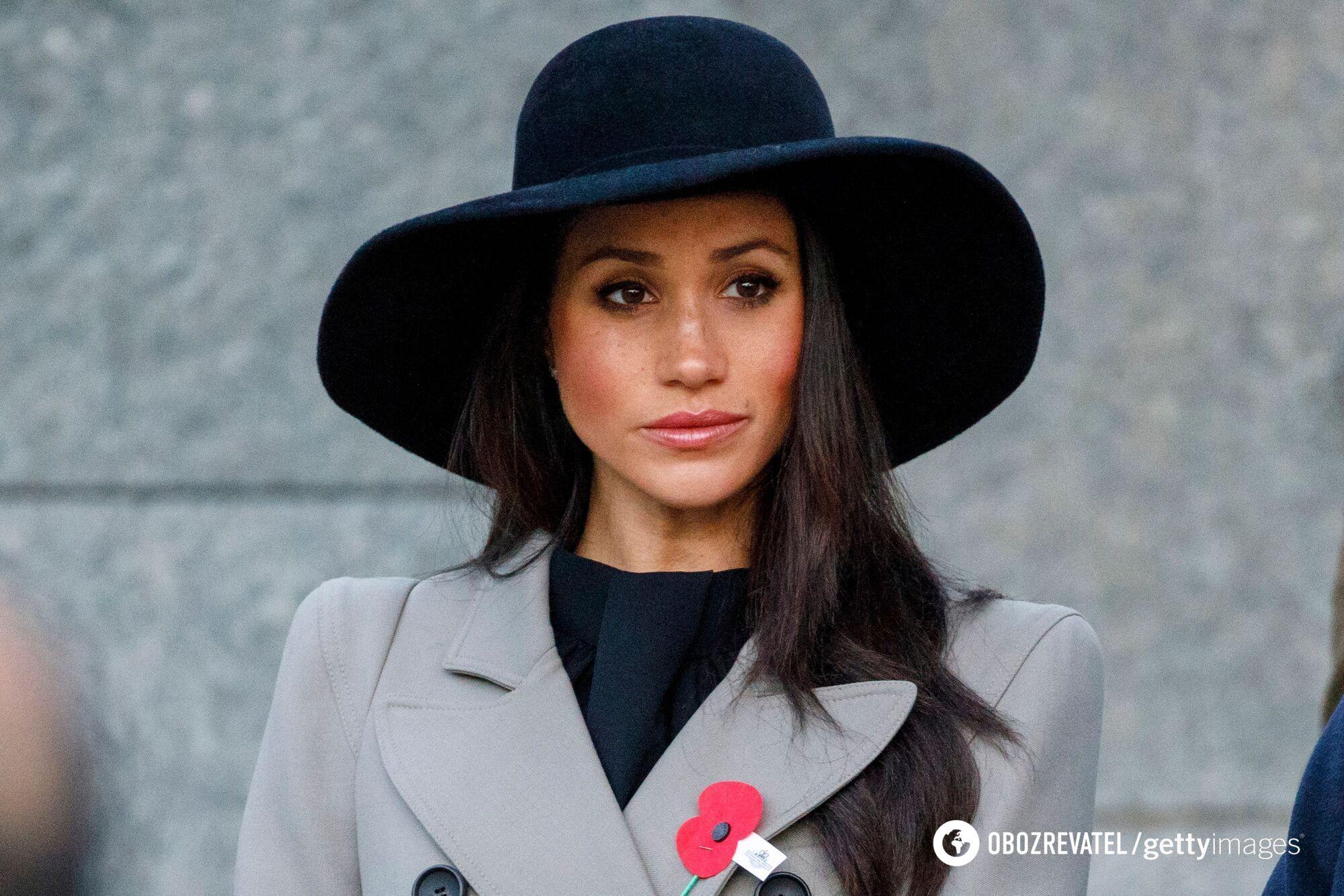 Супруга принца Гарри Меган Маркл.