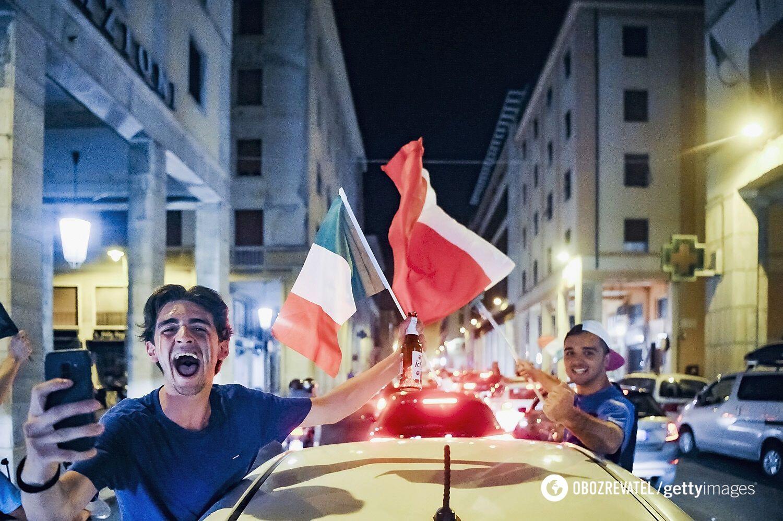 Святкування в Римі.