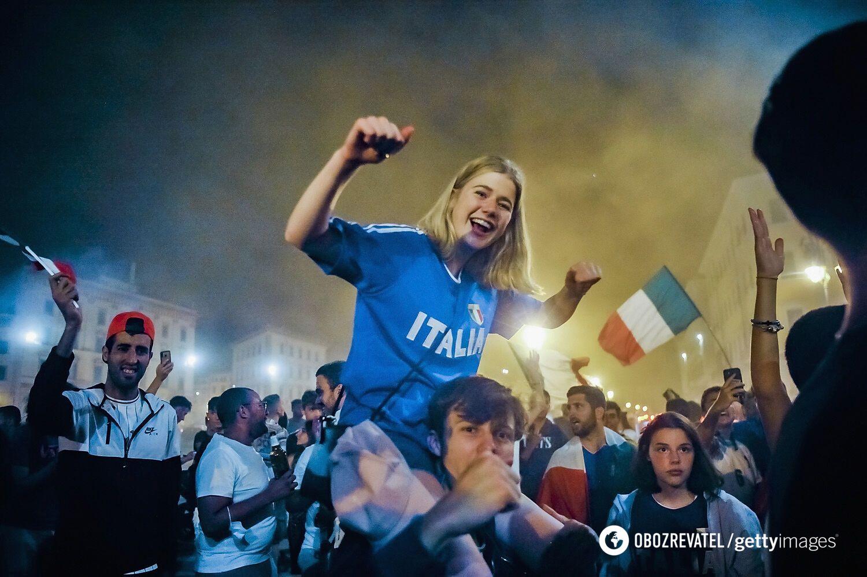 Італійці радіють.