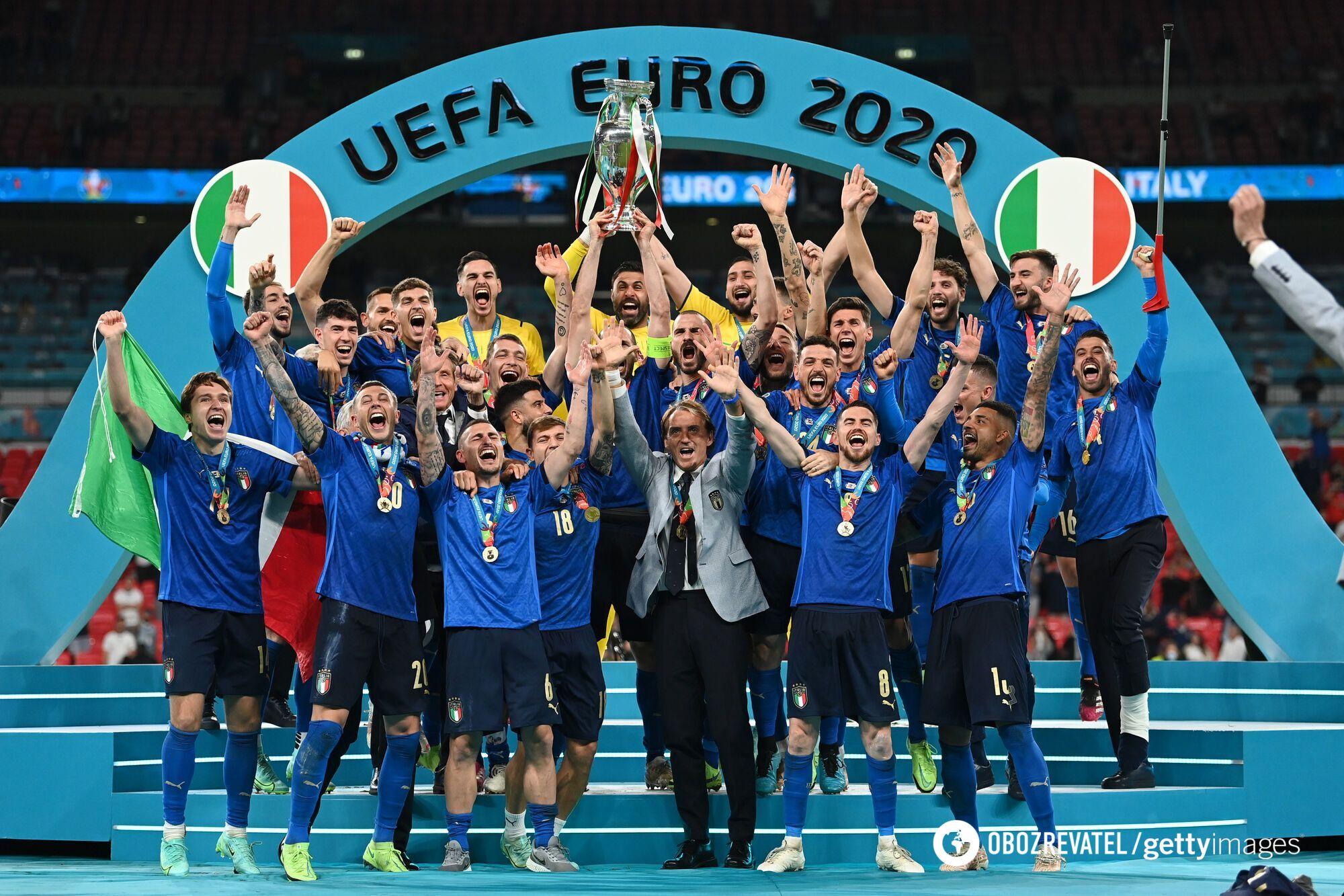 Італія виграла Євро-2020.