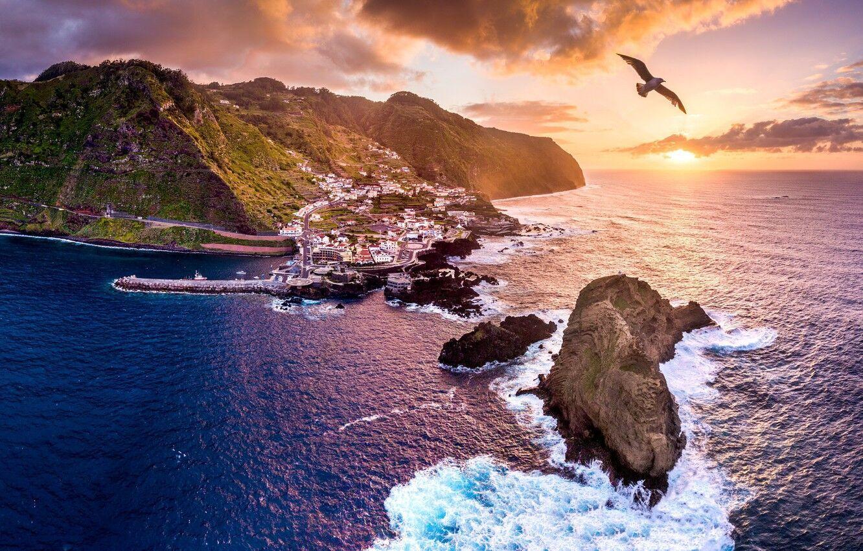 Мягкий климат Мадейры привлекает туристов круглый год