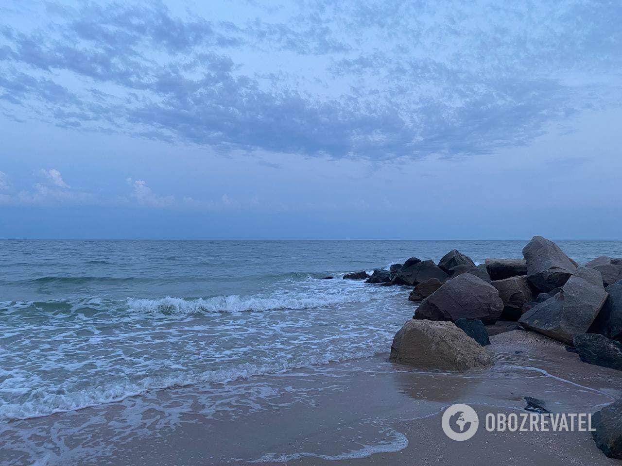 На Бердянской косе пляжи славятся своей чистотой