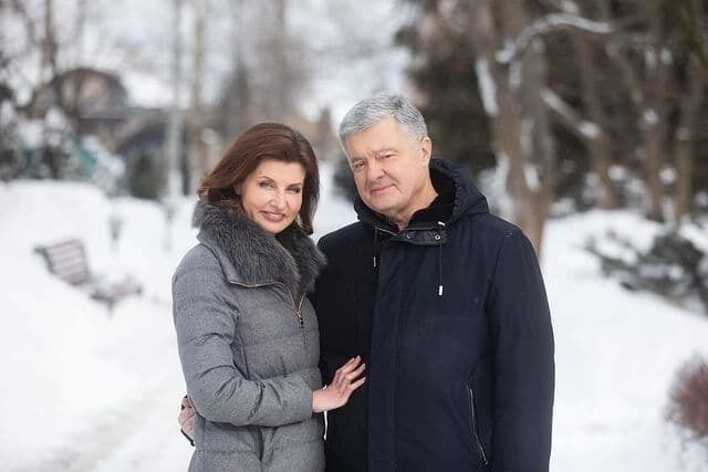 Порошенко с женой Мариной