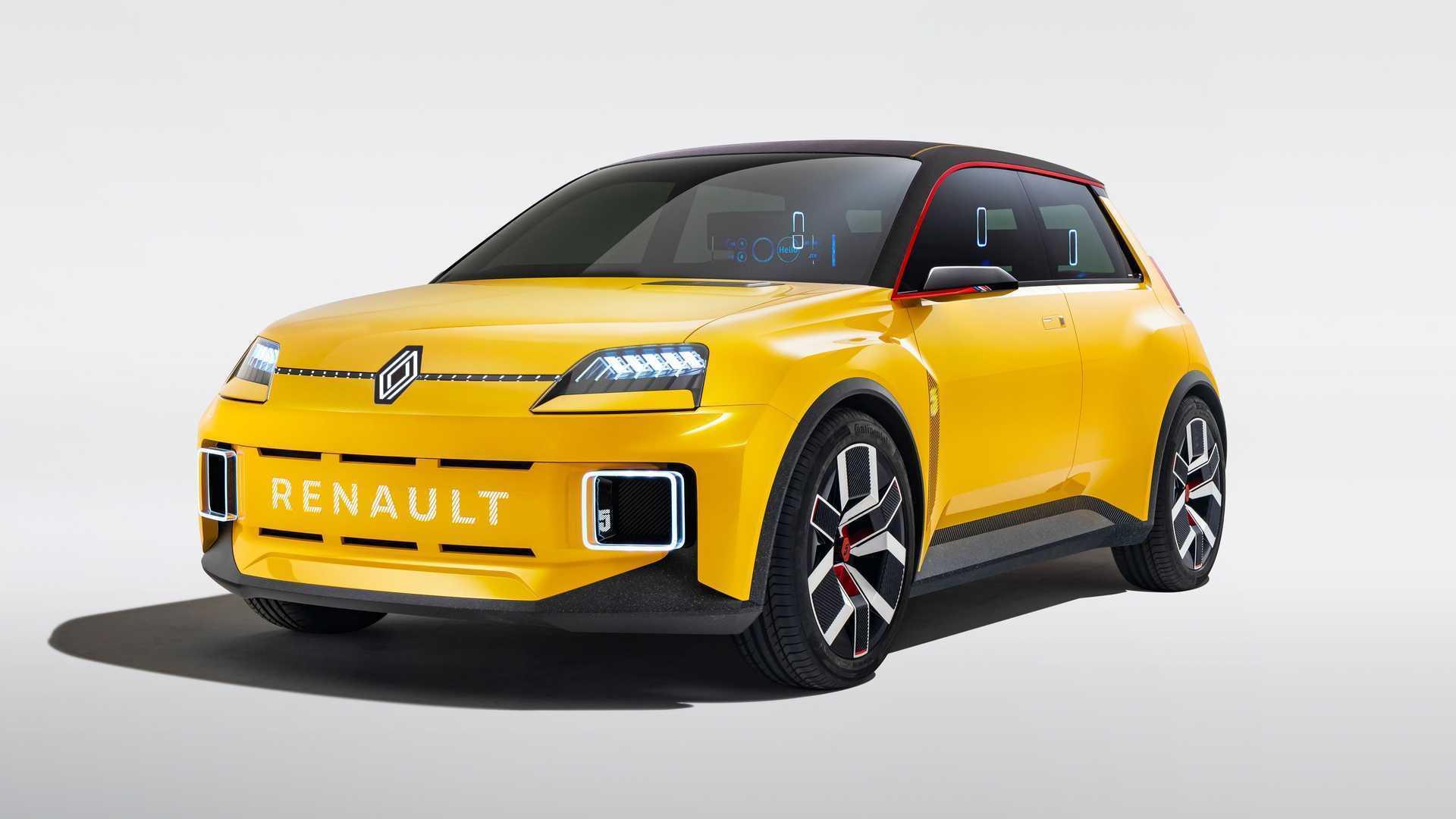 Прототип Renault 5 показали в начале нынешнего года