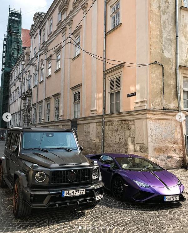 Mercedes-Benz и Lamborghini