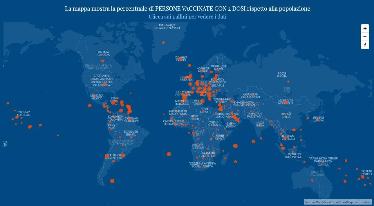 Вакцинація проти COVID-19 у світі