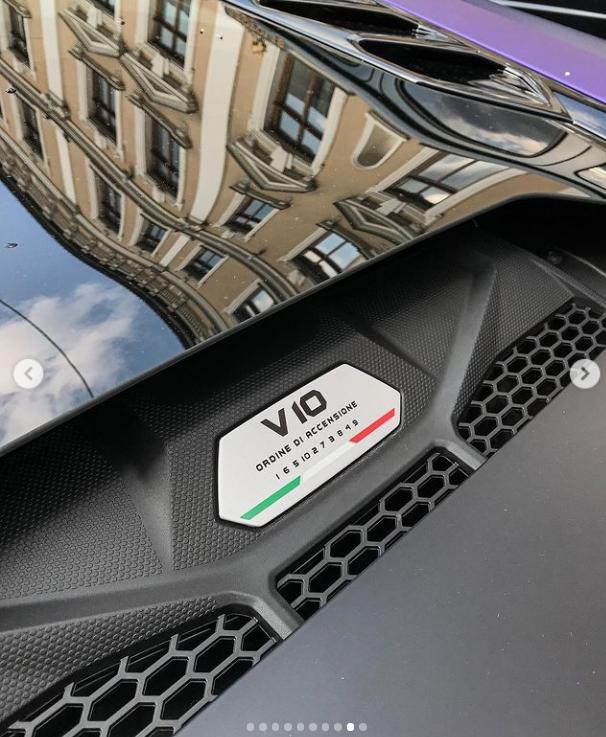 Спецверсия Lamborghini Huracan Evo RWD