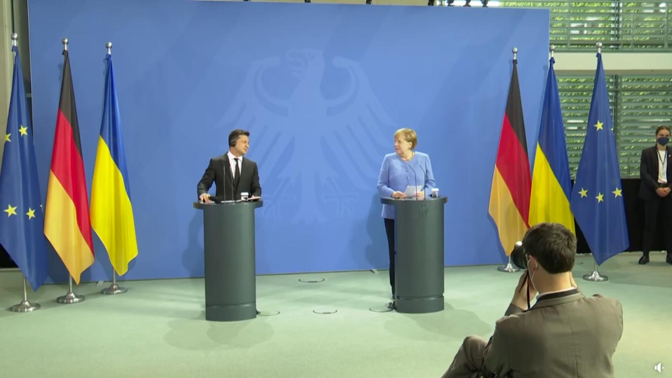 Президент и канцлер ответили на вопросы журналистов