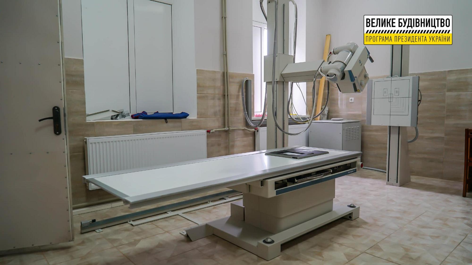 У Вижниці реконструювали відділення екстреної медичної допомоги