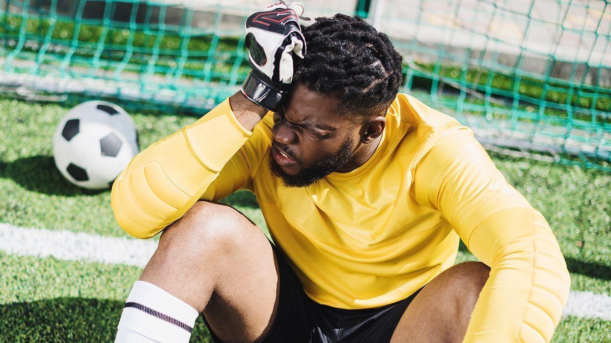 Африканський футболіст (ілюстрація)