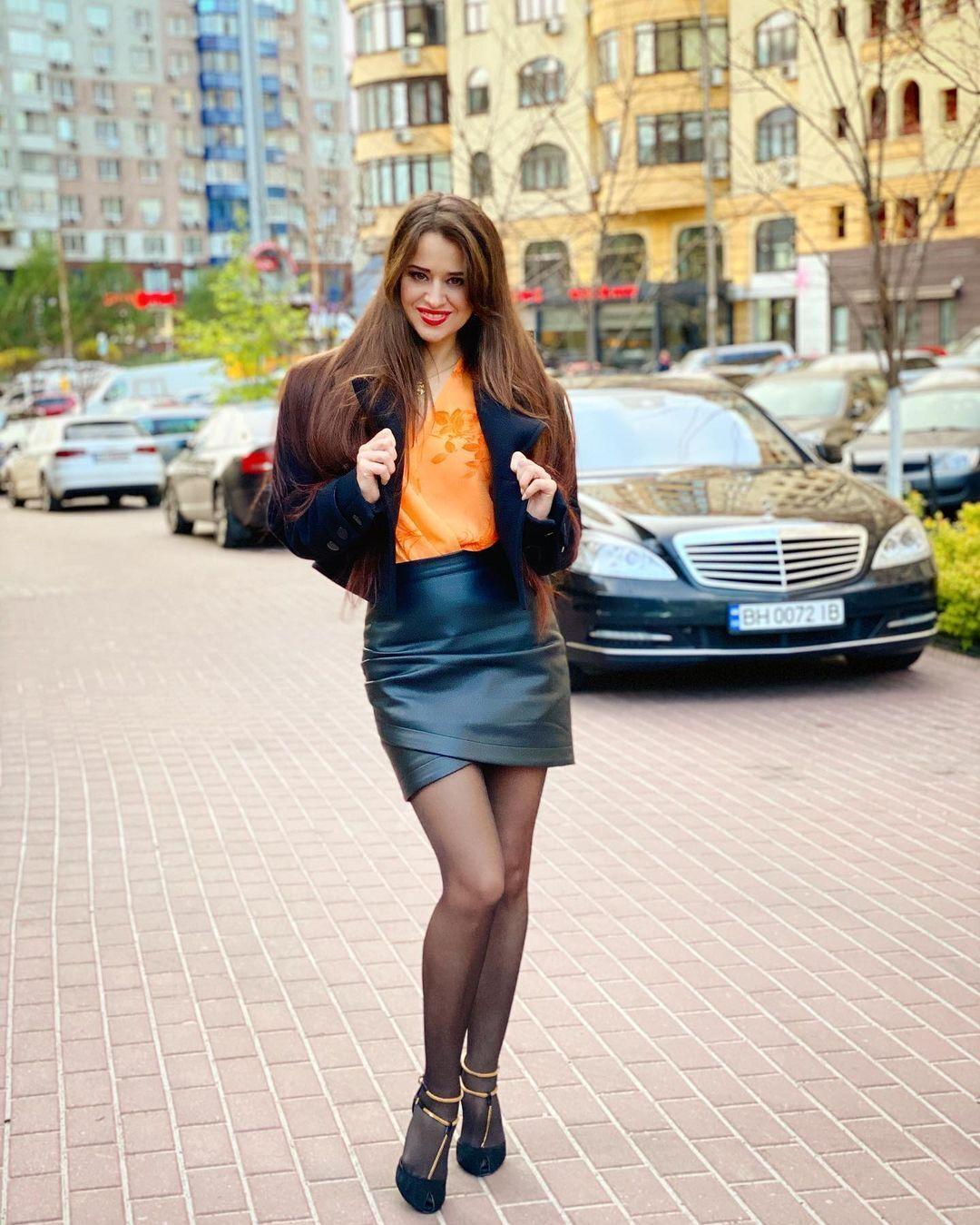 Украинская певица SLAVIA .