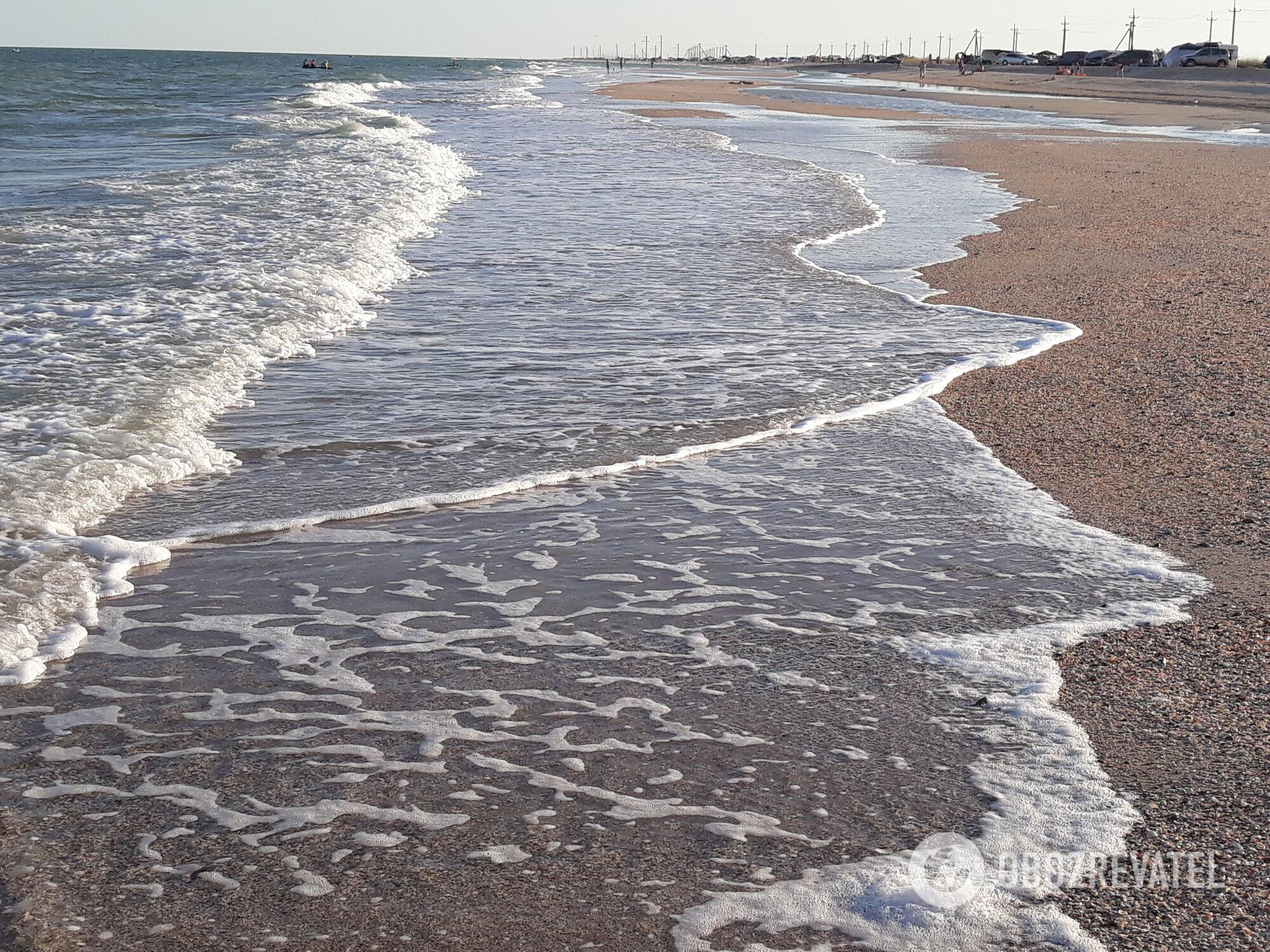 На деяких курортах Азовського моря туристичної інфраструктури немає зовсім